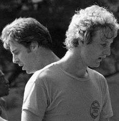 Larry Bird in his rookie year with Dave Cowens. Indiana State, Indiana Pacers, Dave Cowens, Nba Chicago Bulls, Larry Bird, Derrick Rose, Detroit Pistons, Dallas Mavericks, Oklahoma City Thunder