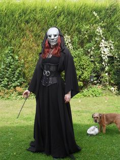 This Death Eater Costume Is Scary Good