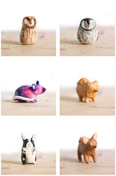 some available totems from le animalé! click through to see more.