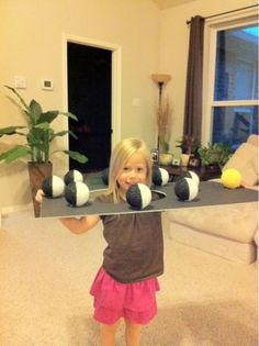 We love this super hands-on way to teach moon phases.