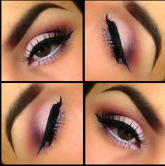 Eye shadow for brown eyes - Pink Shadow