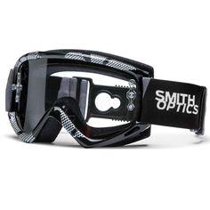 Smith Fuel V.1 Max Quick Strap Goggles - Black Silver Static