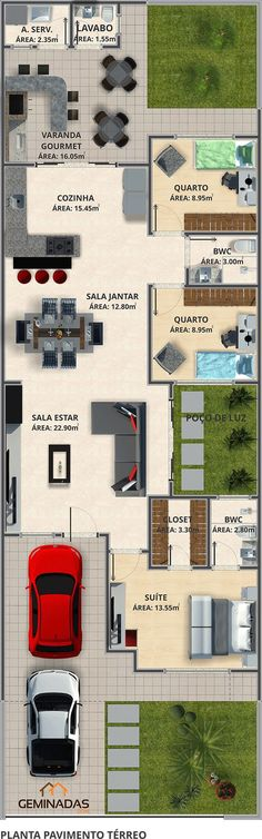 Architecture Kittens newborn kittens for sale Dream House Plans, Modern House Plans, Small House Plans, House Floor Plans, My Dream Home, Sims House, Home Design Plans, House Layouts, Home Deco