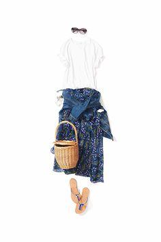 肌も、アクセ 2017-07-01 Classic Outfits, New Outfits, Cool Outfits, Casual Outfits, Fashion Outfits, Womens Fashion, Apple Shape Outfits, Fashion Capsule, Outfit Combinations