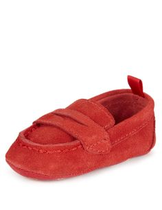 Leather Driving Pram shoes | M&S £10