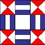 Colorado block quilt pattern