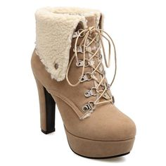 GET $50 NOW | Join RoseGal: Get YOUR $50 NOW!http://www.rosegal.com/boots/suede-platform-tie-up-short-698654.html?seid=9ves46uv63g83kkga3ir6hpr15rg698654