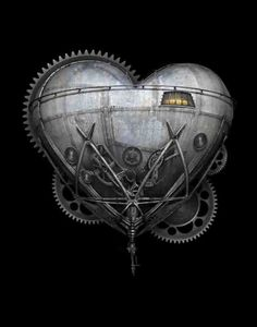 The Heart of Invention  Blank Notecard   by Brian by indigolights