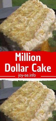 Million Dollar Cake! This rich and buttery Million Dollar Pound Cake has been rotating through Southern kitchens for decades. It's made with 7 simple pantry ingredients and it's amazing served on it's own, with berries and fresh Recipe For Million Dollar Pie, Million Dollar Pound Cake, Just Desserts, Delicious Desserts, Yummy Food, Cake Recipes, Dessert Recipes, Salty Cake, Savoury Cake