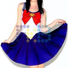 Vestido de licra de #SailorSailorMoon #cosplay #fkb