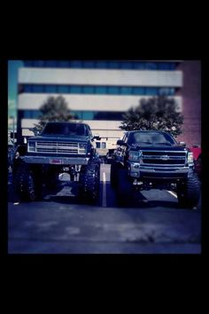 Silverado father and son