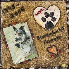 DIY: Garden Stepping Stone as Pet Memorial
