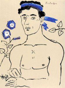 Figure Painting, Figure Drawing, Greek Paintings, Portrait Art, Portraits, Art Of Man, Free Christmas Printables, Pink Elephant, Ex Libris