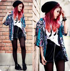3 Top Street Style Looks mit Ombre Hair im Alltag