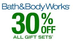 #Coupon - 30% off at Bath and Body Works