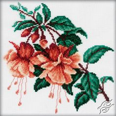 CROSS STITCH KITS - RTO - Cross Stitch Kits - Flowers - Gvello Stitch