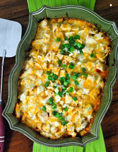 Chicken Tamale Casserole.