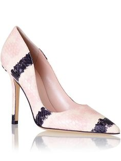 beautiful pink kate spade pumps http://rstyle.me/~3Rmef