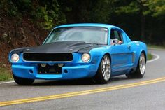 66 mustang cowl hood - Google Search
