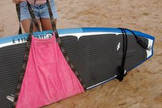 Hele Board Wrap Stand Up Paddle Board & Longboard Surfboard Carrier / Towel on Etsy, $45.00