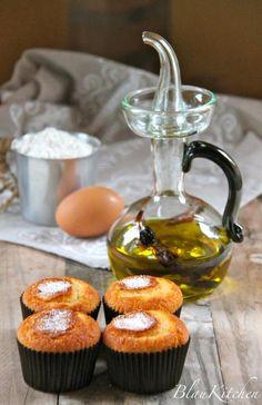 Magdalenas con aceite de oliva