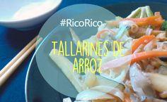 #Receta para preparar unos ricos tallarines de arroz con verduras: http://www.marujismo.com/receta-de-tallarines-de-arroz-con-verduras/