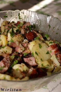salade pomme de terre et morteau
