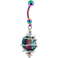 This belly button ring is beautiful! Like it! It looks similar to the image.