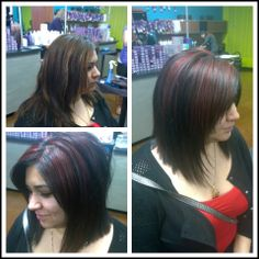 by Nancy at Fossil Creek  #Hair #Stylist #Hairstylist #Hairstylists #Stylists #Pravana #Neuma #Aquage #KevinMurphy #Pretty #Fierce #SalonPurple #Vivids #Vivid #Color #haircolor #hairart