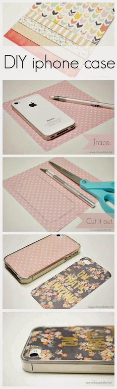 Cute DIY Projects for the Phone Cases