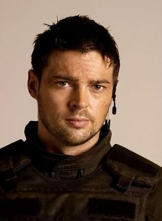 Karl Urban and that tiny mouth. Good grief.
