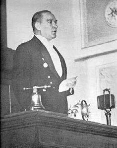 24/04/1920 - Mustafa Kemal Atatürk, Türkiye Büyük Millet Meclisi Reisliğine seçildi. #ataturk