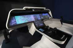 Inside the touchscreen cockpit of the future | TechRepublic