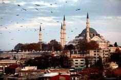Suleymaniyye Mosque in Istanbul.