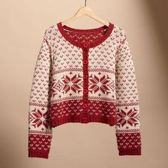 Who doesn't love a Scandinavian style sweater?