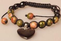 Unakite bracelet talisman amulet Unakite amulet bracelet