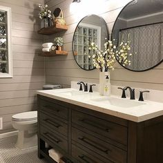 What to Do About Bathroom Remodel Shiplap If it comes to renovations, some homeowners elect to utilise the assistance of professional contractors. The next time you're planning a house… Remodel, Bathroom Makeover, Newly Remodeled Bathrooms, Shiplap Bathroom, Stylish Bedroom Design, Bathroom Renovations, Bathrooms Remodel, Bathroom Design, Farmhouse Bathroom Decor