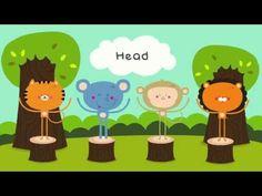 ▶ Head and Shoulders Knees and Toes | Nursery Rhymes - YouTube