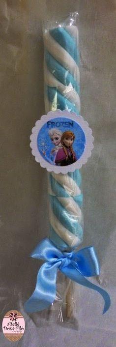 Pirulito de Marshmallow - Tema Frozen #festafrozen #lembrancinhadoce #pirulitomarshmallow #lembrancinhafrozen