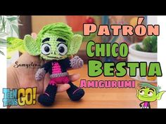 Chico Bestia Teen Titans Amigurumi - YouTube Martian Manhunter, Deathstroke, Comic Games, Batwoman, Power Girl, Aquaman, Teen Titans, Supergirl, Marvel Comics