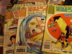 "HARVEY ROCKOMICS COMICS "" NEW KIDS ON THE BLOCK"" #1 ISSUE BACK STAGE PASS 3 BOOK"