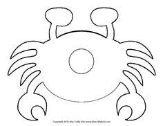 Paper Weave Crab Craft For Preschoolers · The Inspiration Edit Crab Craft Preschool, Under The Sea Decorations, Crab Crafts, Crab Art, Arts And Crafts, Paper Crafts, Paper Weaving, Toddler Crafts, Toddler Activities