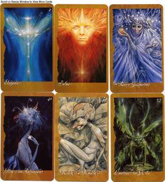 Featuring the beautiful art of Brian Froud, this is the The Faeries Oracle