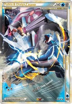 Legend Pokemon Cards | Pokemon Card of the Day: Palkia & Dialga Legend (Triumphant ...