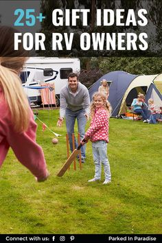 Gift ideas, accessories and gadgets for the RV owner. We use these practical stocking stuffers every day in a camper. Gifts For Rv Owners, Rv Gifts, 5th Wheel Living, Solar Power Station, Camping Club, Bathroom Gadgets, 5th Wheels, Us National Parks, Practical Gifts
