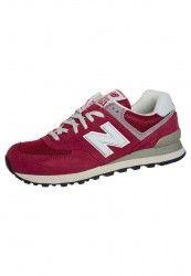 Zapatillas New Balance ML574 para Mujer Rojo Gris Blanco Comprar Online Espa a