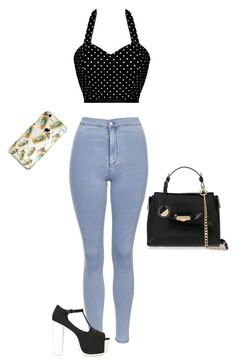 """""""Для юлия"""" by poljap on Polyvore featuring мода, Topshop, Versace и Jeffrey Campbell"""