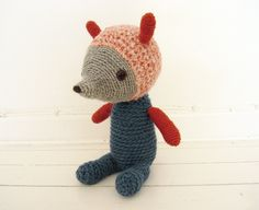 by Camilla Engman so cute. I have to learn what crochet stitch she used for the body and face