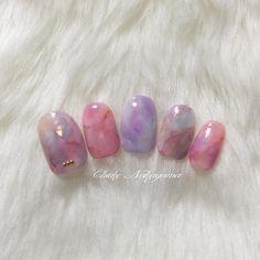 大人なニュアンスネイル✨ MissMirageNM16.49.65.S1.NW01.05.22.26.27.28.29.31.オーロラシート #nail #nails #nailart #ネイル #美甲 #ネイルアート #clou #鉄鉱石ネイル #ストーンネイル #stonenails #鉱石ネイル #ニュアンスネイル