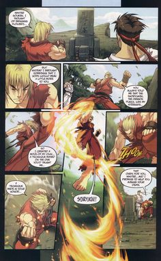 Street Fighter (2003) Issue #2 - Read Street Fighter (2003) Issue #2 comic online in high quality